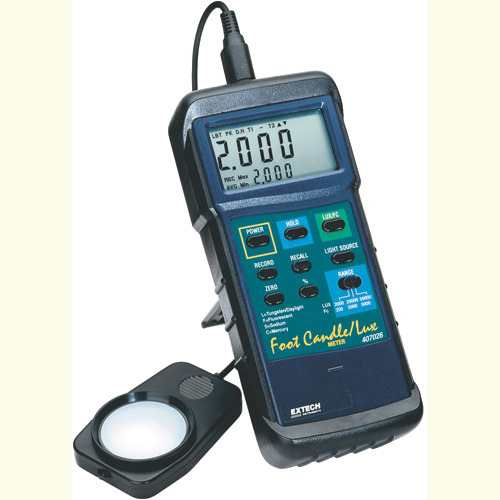Extech 407026 Heavy Duty Light Meter