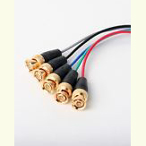 RGB Video Cable 5 BNC to 5 BNC Cable