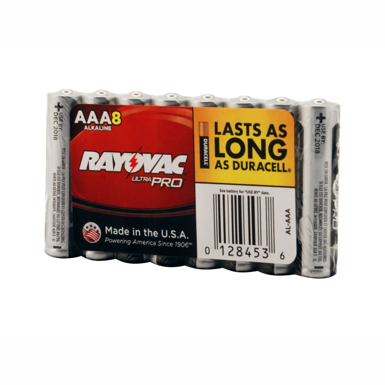 Rayovac AL-AAA UltraPro Alkaline AAA Batteries