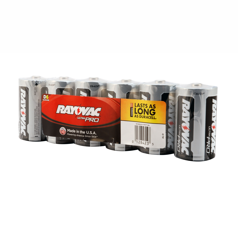 Rayovac AL-D UltraPro Alkaline D Batteries
