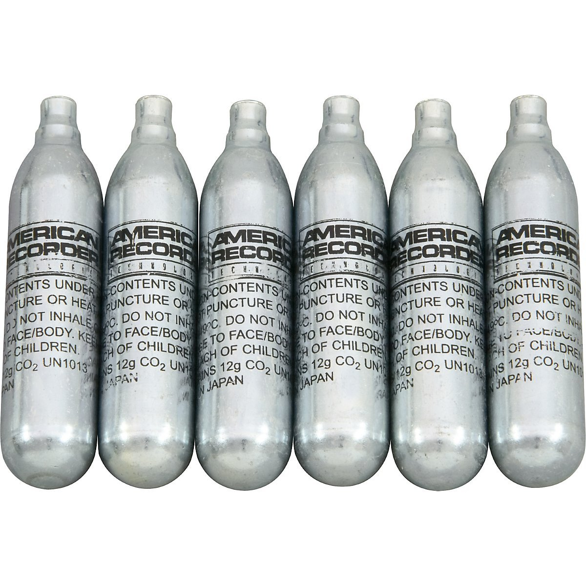 CO-2/6 CO2 Replacement Cartridges 6/pk
