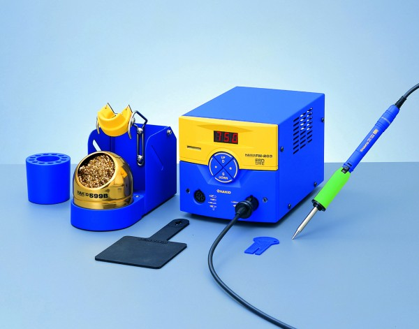 Hakko FM203-01 Dual Port Variable Temp Soldering Station