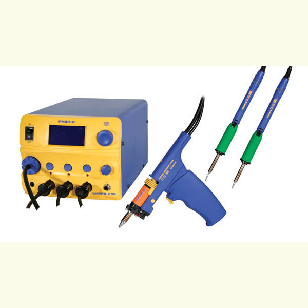 Hakko FM-206-DSS 3 Port Rework Station
