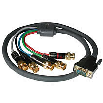 45-5130 VGA to 5 BNC Male Video Cable, 12ft
