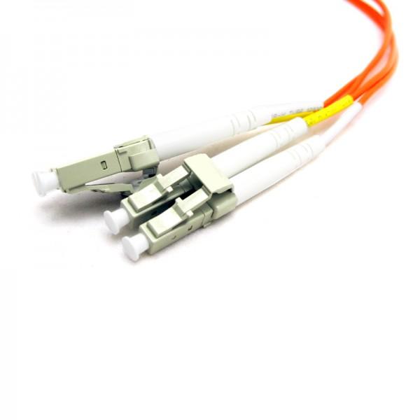 LC-LC Multimode 62.5/125 Duplex Fiber Optic Jumpers