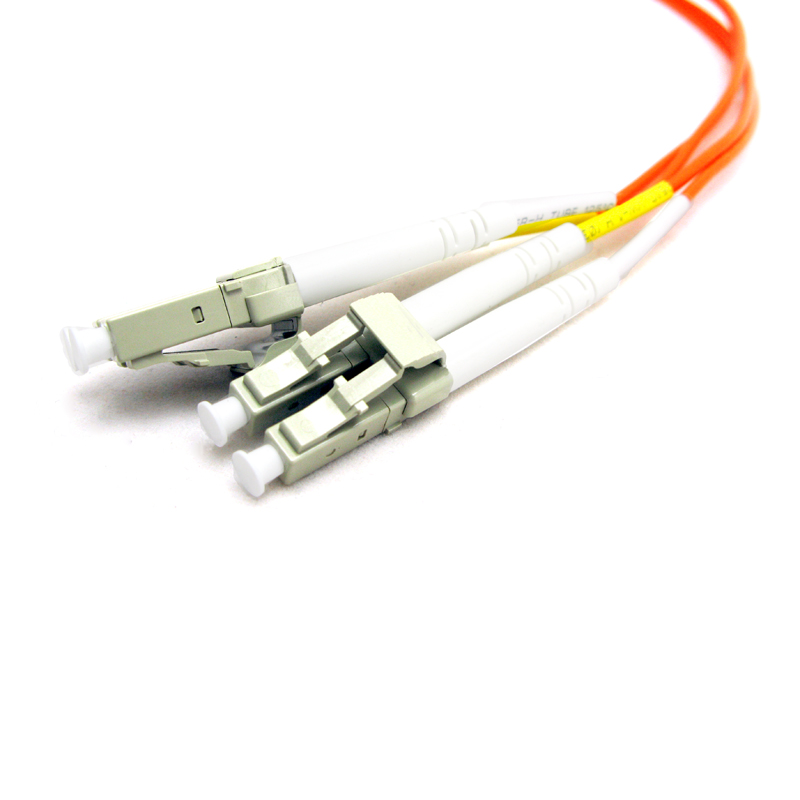 LC-LC Multimode 62.5/125 Duplex Fiber Optic Jumpers