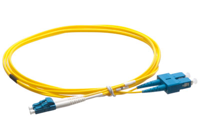 LC-SC Singlemode Duplex Fiber Optic Jumpers