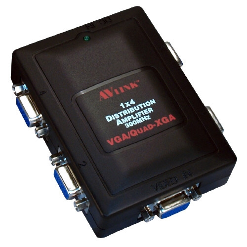 MSV14C VGA/QXVGA Compact Video Distribution Amplifier 1x4