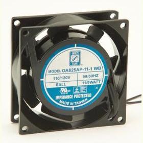 OA825AP-11-3WB 80 x 25mm Fan, 115AC
