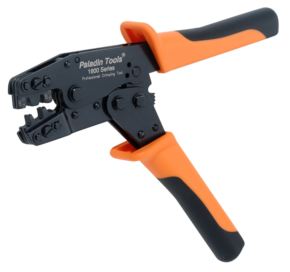 Paladin PA1645 Professional Open-Barrel Pin Crimper
