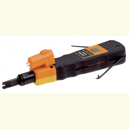 Paladin PA3587 SurePunch Pro Punch Down Tool with 110 66 Blades with Light
