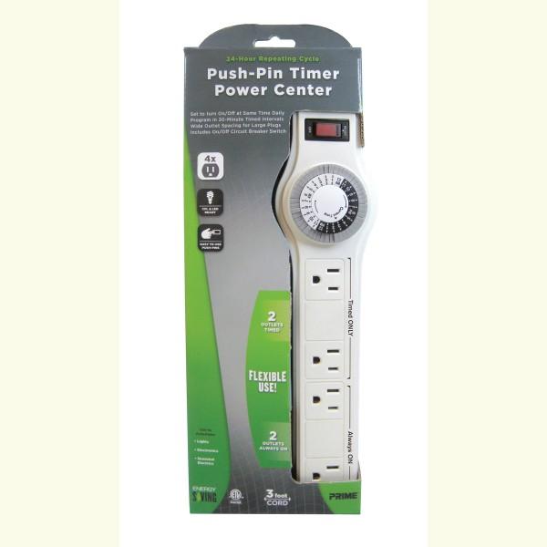 Prime PBTN0009 4-Outlet Indoor Power Strip