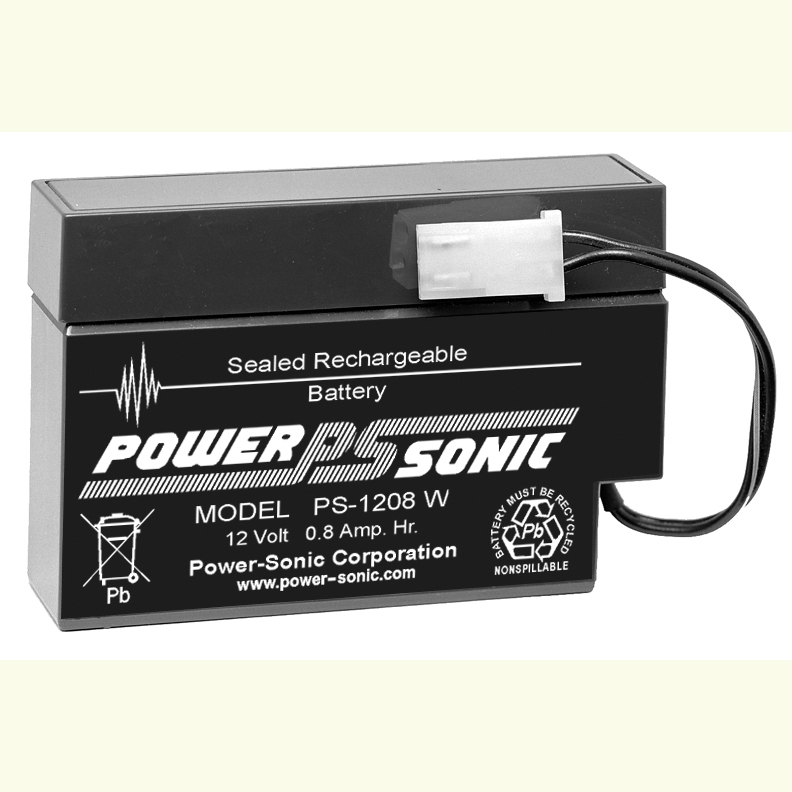 Powersonic PS-1208-WL12V 0.8AH Battery