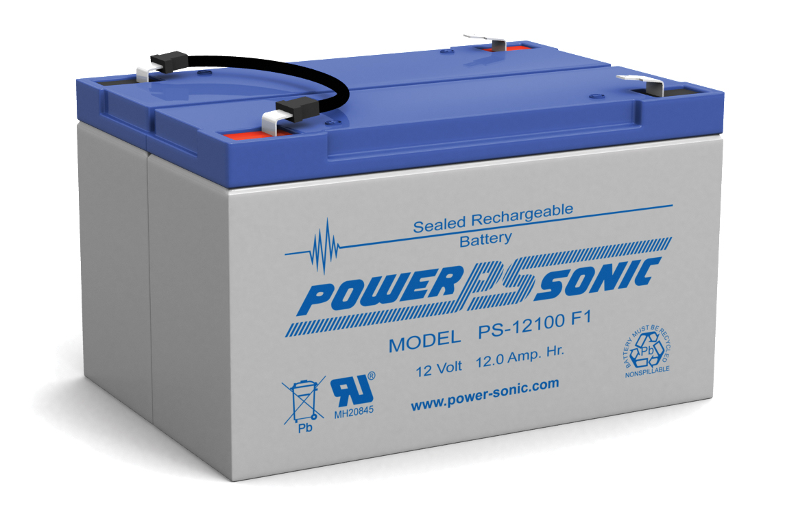 Powersonic PS-12100-F1 12V 10AH F1 Battery