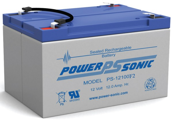 Powersonic PS-12100-F2 12V 10AH F2 Battery