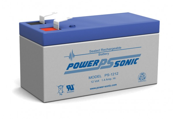 Powersonic PS-1212 12V 1.2AH Battery