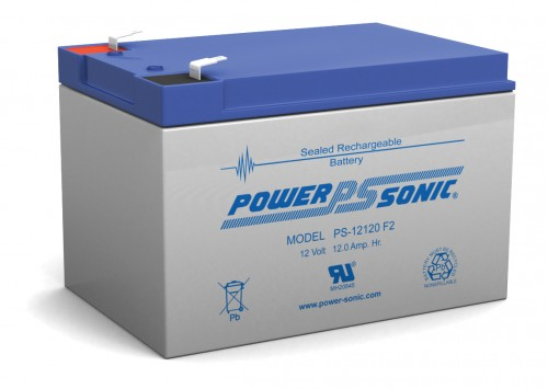 Powersonic PS-12120-F2 12V 12AH Battery