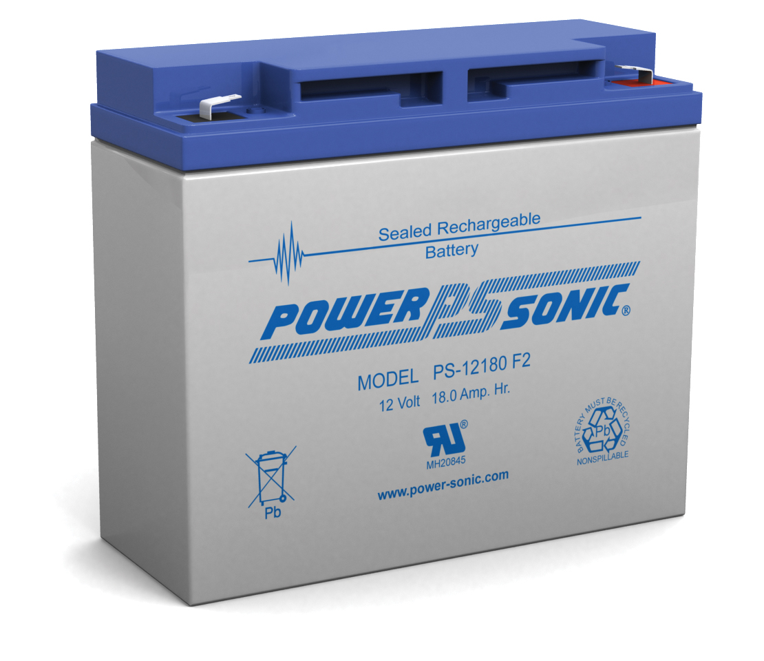 Powersonic PS-12180-F2 12V 18AH F2 Battery