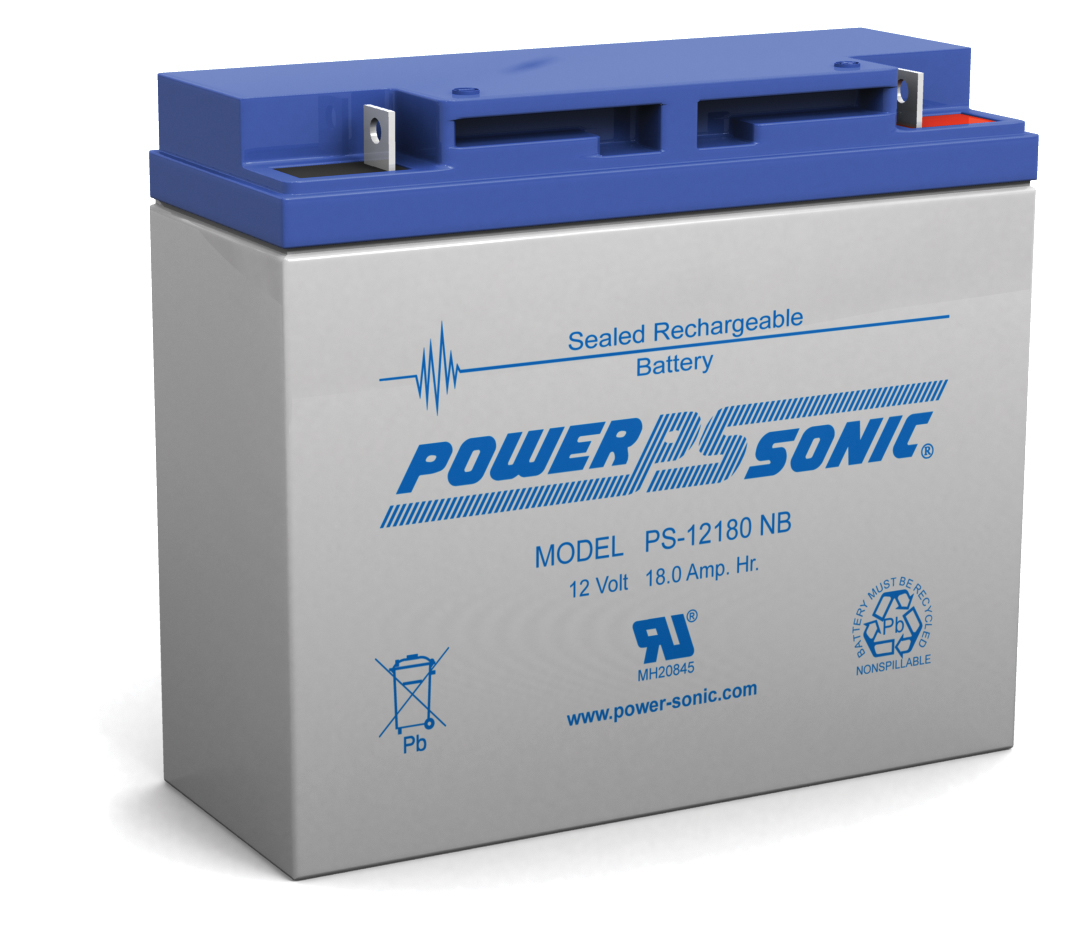 Powersonic PS-12180-NB 12V 18AH NB Battery