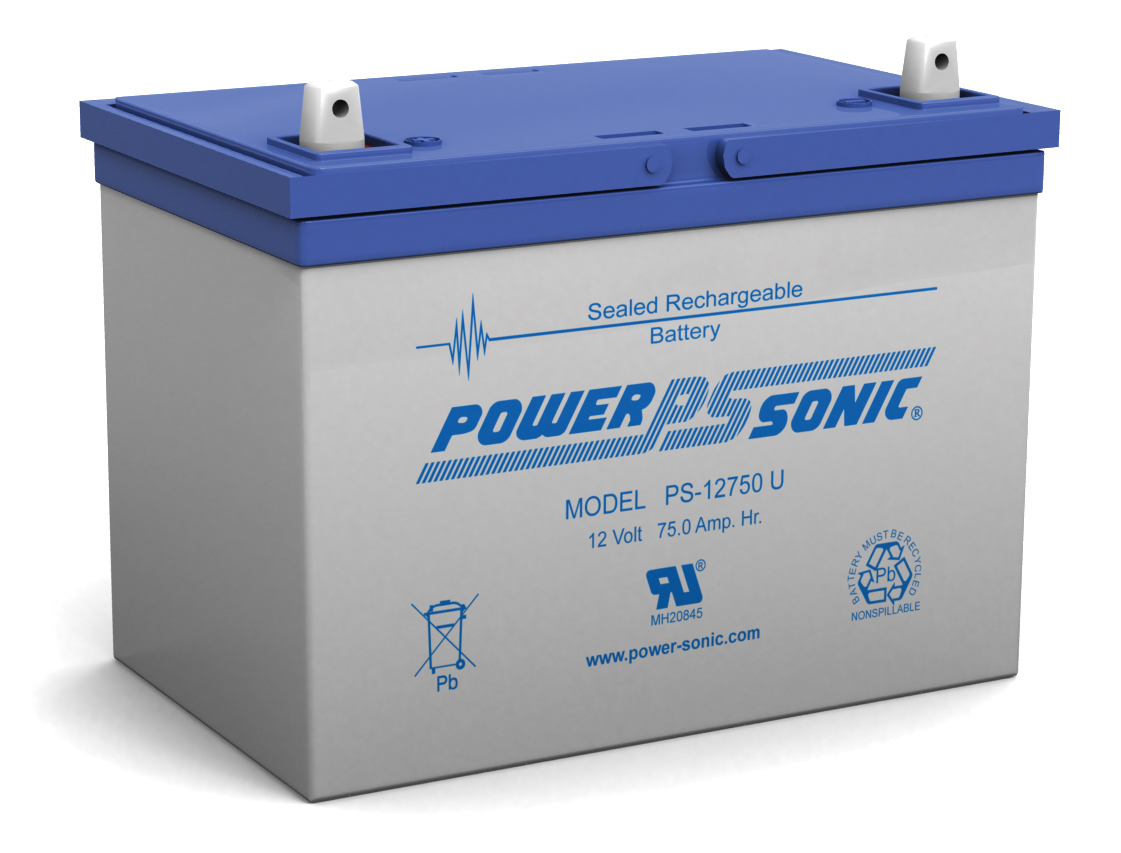 Powersonic PS-6100-F2 6V 12AH F2 Battery
