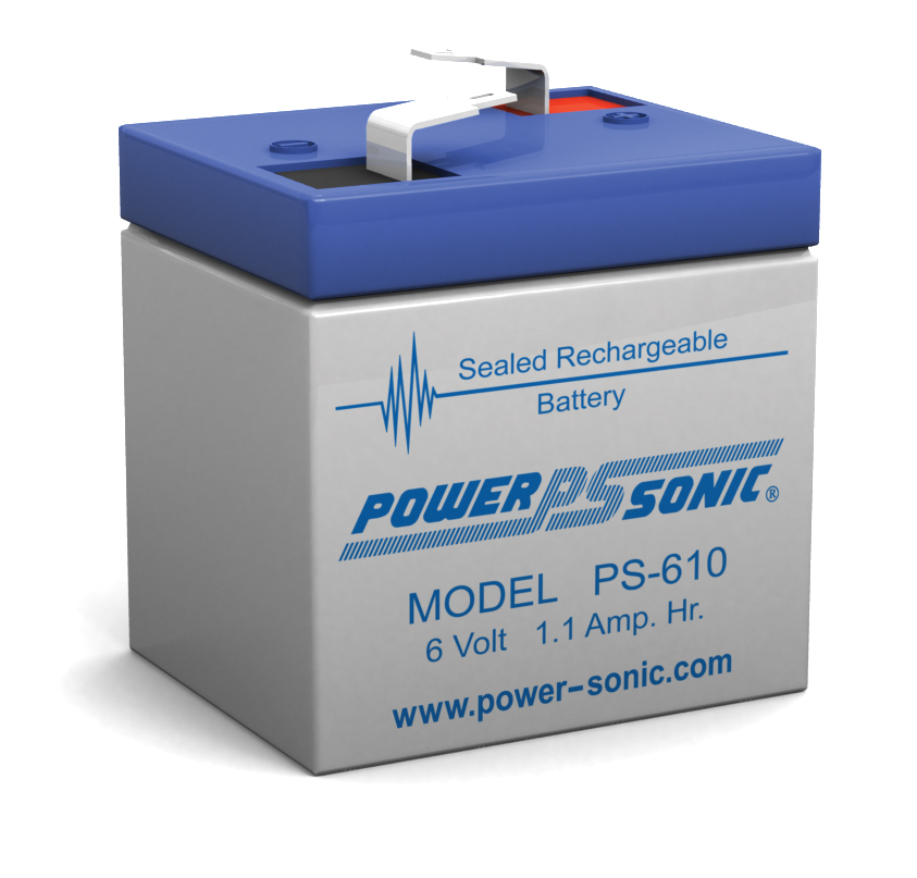 Powersonic PS-610 6V 1AH Battery