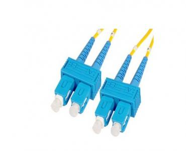 SC-SC Singlemode Duplex Fiber Optic Jumpers 1m