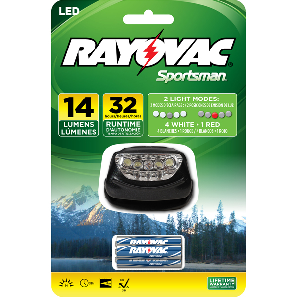 Rayovac SE5LEDHLT-B Sportsman Xtreme LED Headlight