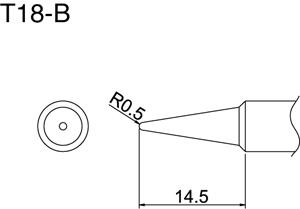 Hakko T18-B Solder Tip