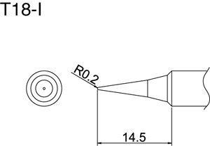 Hakko T18-I Solder Tip