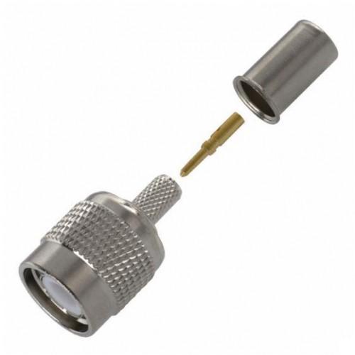 TNC-3422-CP TNC 3pc Crimp Plug RG58A/U; RG58C/U