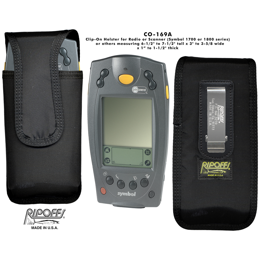 Ripoffs CO-169A Radio or Scanner Holster