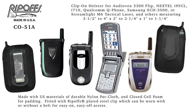 Ripoffs CO-51A Phone Holster