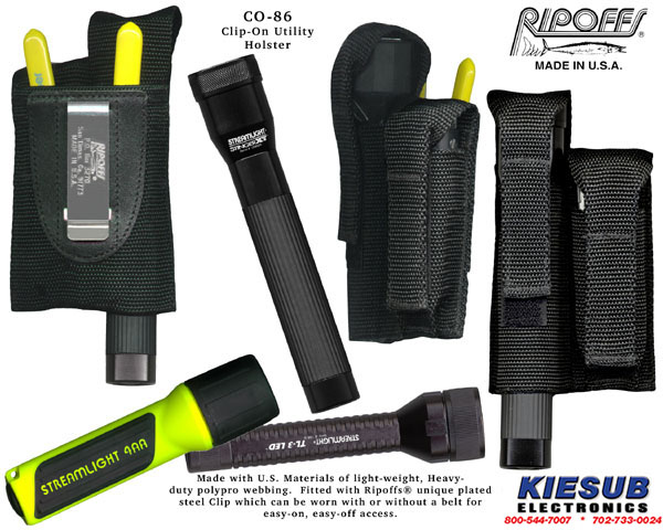 Ripoffs CO-86 Flashlight/Tool Holster