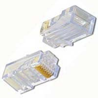 PT-088RS CAT5e Standard RJ45 Modular Connectors, 50/pk