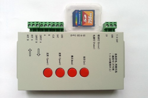 T-1000S SD Card LED Pixel Controller
