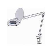 Philmore 63-114 LED Swing Arm Magnifying Bench Light