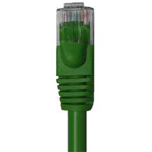 CAT6 550MHz Patch Cords, Green