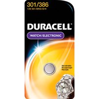Duracell D301/386PK Watch Button Cell Battery