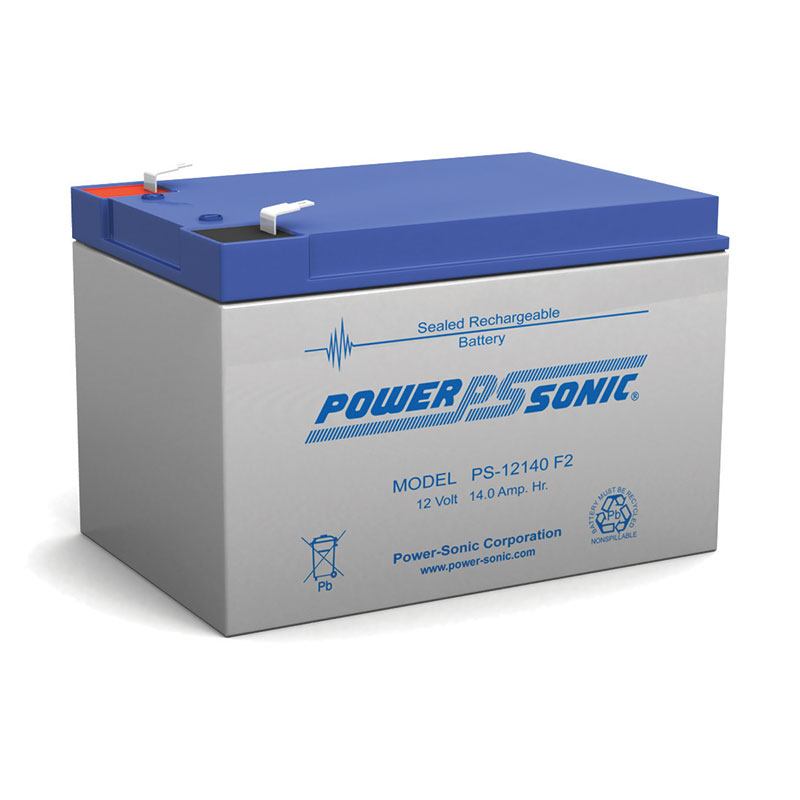Powersonic PS-12140-F2 12V 14AH Battery