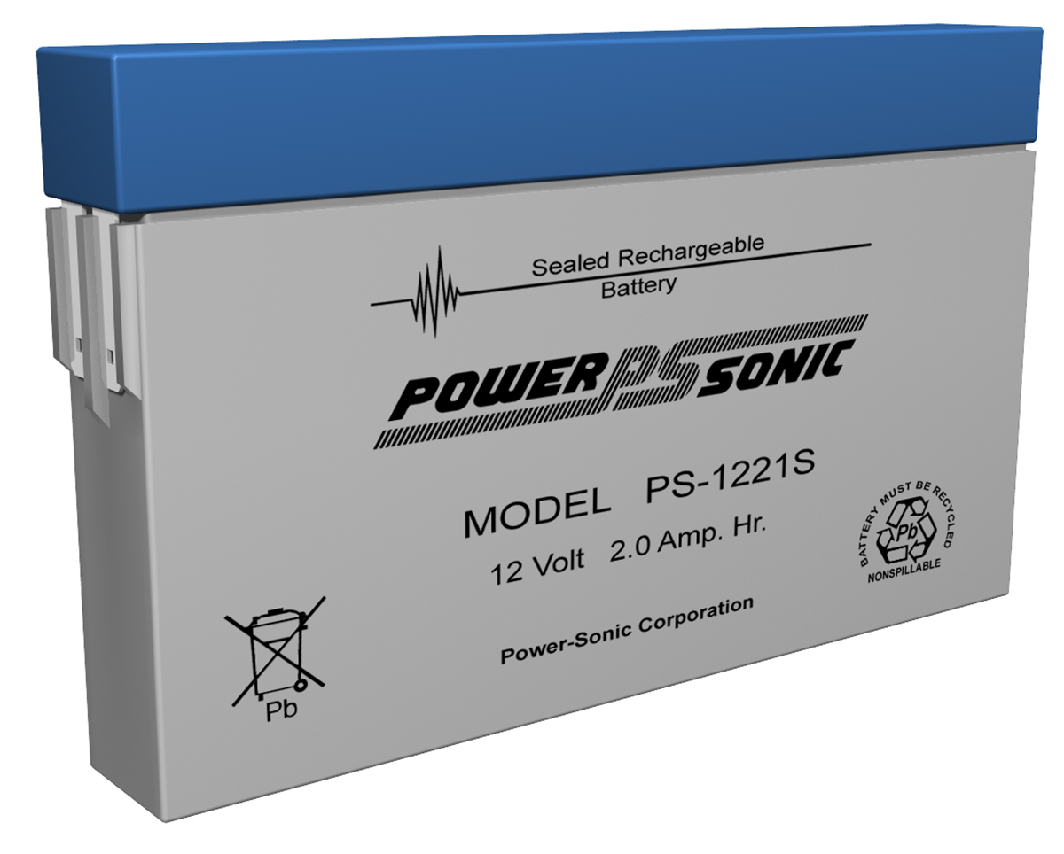 Powersonic PS-1221-S 12V 2.0AH Battery