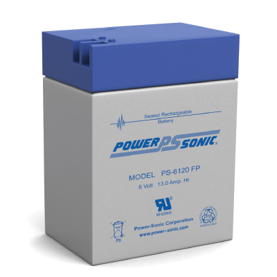 Powersonic PS-6120FP 6V 13.0AH Battery