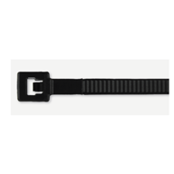 Avery Dennison 14.5in Cable Ties, Weather Resistant Black or Natural, 120 lbs.