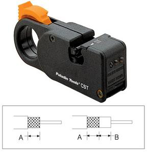 Paladin PA1247 CST Orange Coax Stripper