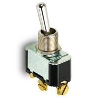 NTE 54-010 SWITCH TOGGLE SPDT 15A ON-OFF-ON 125VAC