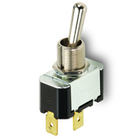 NTE 54-009 SWITCH TOGGLE SPDT 15A ON-OFF-ON 125VAC
