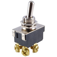 NTE 54-011 SWITCH TOGGLE DPST 15A ON-NONE-OFF 125VAC