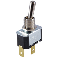 NTE 54-023 SWITCH TOGGLE SPST 15A ON-NONE-OFF