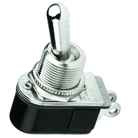 NTE 54-070 SWITCH BAT HANDLE TOGGLE SPST ON-NONE-OFF 6A 125VAC
