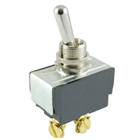 NTE 54-103 SWITCH TOGGLE SPST 15A (ON)-NONE-OFF 125VAC