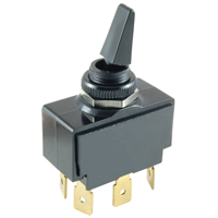 NTE 54-108 SWITCH PADDLE TOGGLE DPDT ON-NONE-ON 20A 125VAC